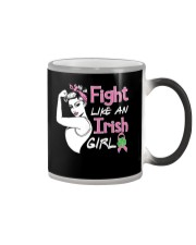 Fight Like An Irish Girl Color Changing Mug thumbnail