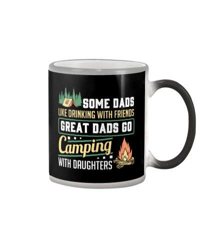Camping - Dad - Daughter
