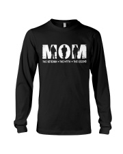 Mom - The Veteran - The Myth - The Legend Long Sleeve Tee thumbnail