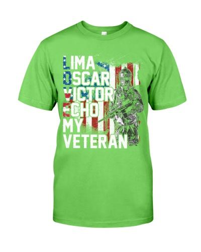 Veteran - Lima - Oscar - Veteran Gift