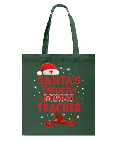 Santa's Favorite Music Teacher -Christmas gift