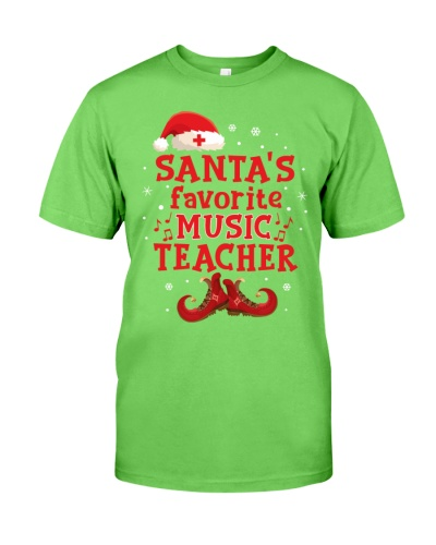 Santa's Favorite Music Teacher -Christmas gift
