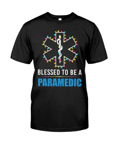 Paramedic - Blessed - Christmas Shirt