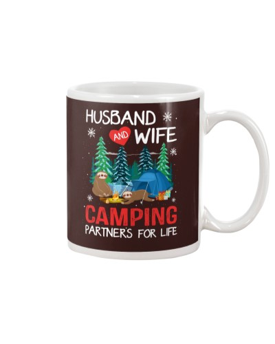 Camping - Husband And Wife - Camping Partners
