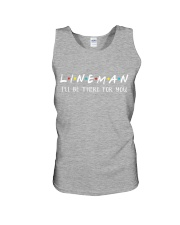 Lineman - I'll be there for you  Unisex Tank thumbnail