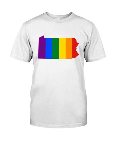 LGBT Pride - Pennsylvania Map