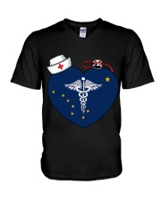 Nurse - National Nurse Week for Alaska V-Neck T-Shirt thumbnail