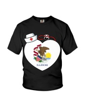 Nurse - National Nurse Week for Illinois Youth T-Shirt thumbnail