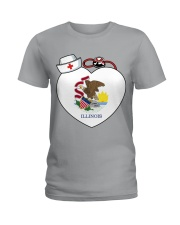 Nurse - National Nurse Week for Illinois Ladies T-Shirt thumbnail