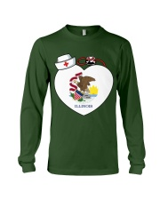 Nurse - National Nurse Week for Illinois Long Sleeve Tee thumbnail
