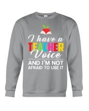 Teacher Voice Crewneck Sweatshirt thumbnail