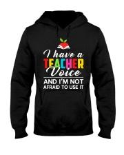 Teacher Voice Hooded Sweatshirt thumbnail