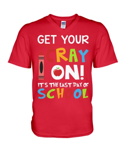 Get your Crayon - It's the last day of school
