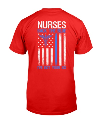 Nurses Back The Blue - I've Got Your Six