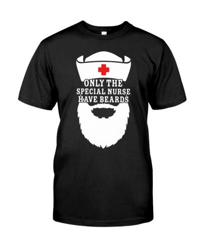 Nurse shirt - Bearded Nurse - Christmas gift