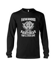 Fatherhood - The Toughest Job You'll Ever Love Long Sleeve Tee thumbnail