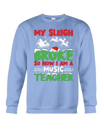 Music Teacher - My Sleigh broke