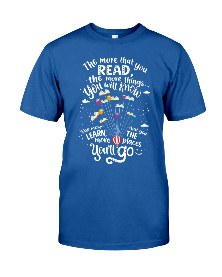 World Read Day - Read More Classic T-Shirt