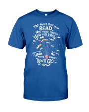 World Read Day - Read More Classic T-Shirt front
