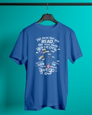 World Read Day - Read More Classic T-Shirt lifestyle-mens-crewneck-front-3