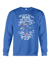 World Read Day - Read More Crewneck Sweatshirt thumbnail