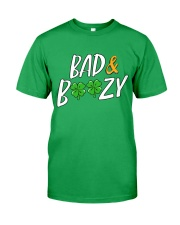 Bad and Boozy - St Patrick's Day Classic T-Shirt front