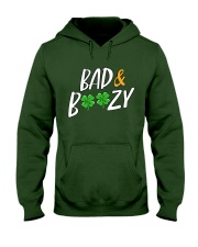 Bad and Boozy - St Patrick's Day Hooded Sweatshirt thumbnail