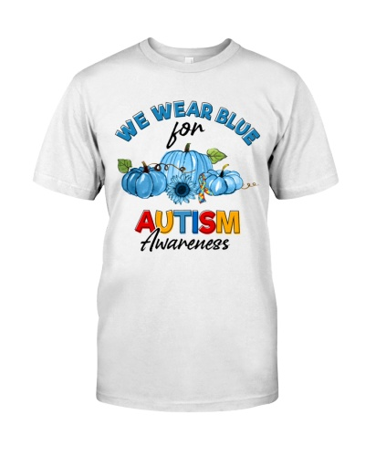 Autism - We Wear Blue
