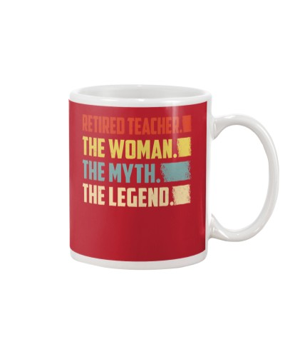 Retired Teacher Woman Legend
