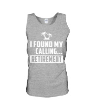 I FOUND MY CALLING RETIREMENT Unisex Tank thumbnail