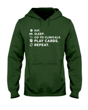 Nurse - Eat Sleep Go to Clinicals Hooded Sweatshirt thumbnail