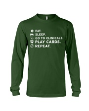Nurse - Eat Sleep Go to Clinicals Long Sleeve Tee thumbnail