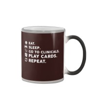 Nurse - Eat Sleep Go to Clinicals Color Changing Mug thumbnail