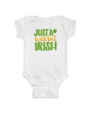 Just A Wee Bit Irish Onesie thumbnail