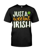 Just A Wee Bit Irish Premium Fit Mens Tee thumbnail