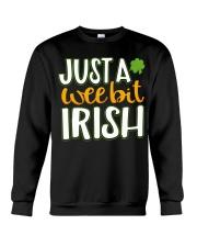 Just A Wee Bit Irish Crewneck Sweatshirt thumbnail