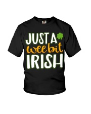 Just A Wee Bit Irish Youth T-Shirt front