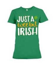 Just A Wee Bit Irish Premium Fit Ladies Tee thumbnail