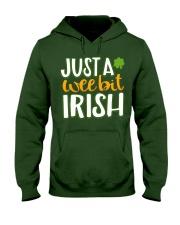 Just A Wee Bit Irish Hooded Sweatshirt thumbnail