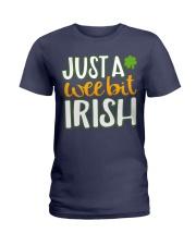 Just A Wee Bit Irish Ladies T-Shirt thumbnail