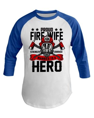 Firefighter - Proud Fire Wife