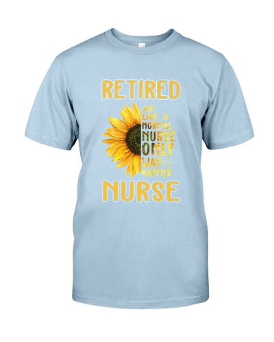 Retired Nurse Happier