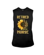 Retired Nurse Happier Sleeveless Tee thumbnail