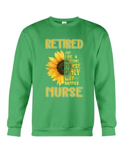 Retired Nurse Happier