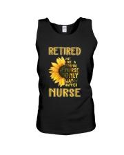 Retired Nurse Happier Unisex Tank thumbnail