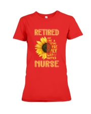 Retired Nurse Happier Premium Fit Ladies Tee thumbnail