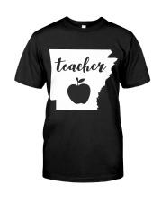 Arkansas Teacher - Map Premium Fit Mens Tee thumbnail