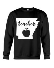 Arkansas Teacher - Map Crewneck Sweatshirt thumbnail
