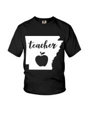 Arkansas Teacher - Map Youth T-Shirt thumbnail