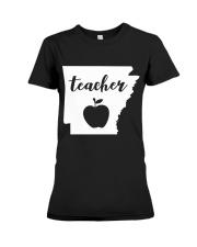 Arkansas Teacher - Map Premium Fit Ladies Tee thumbnail